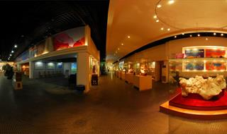 360 panoramic of Geological Science Museum