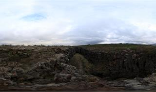 Panorama in Iceland National Park
