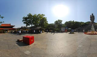 360 degree panorama of Lingshan Scenic Area