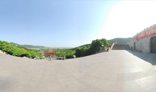 360 virtual panorama of Lingshan Scenic Area