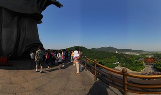 360 degree view of Lingshan Scenic Area