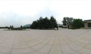 Museum of Qin Terracotta 360 panoramic photo