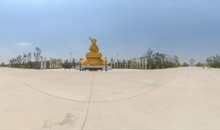 Famen Temple 360 panoramic image