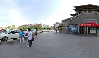 Drum Tower 360 panoramic image