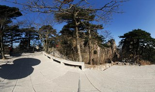 360 panorama VR of Mount Huangshan Mountain scenic