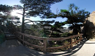 360 VRpanorama of Mount Huangshan Mountain scenic