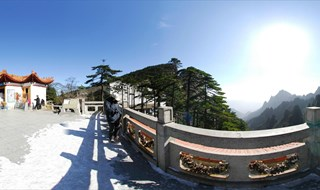 360 tourpano of Mount Huangshan Mountain scenic