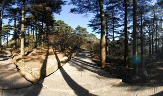 Mount Huangshan Mountain scenic Virtual panorama