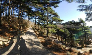 Mount Huangshan Mountain scenic 360 degree photo