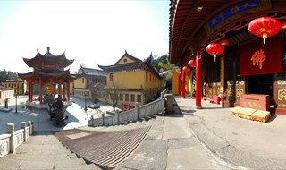 Panoramic tour of Tianmu Mountain
