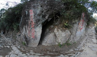 Virtual panorama of Tianmu Mountain