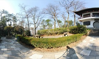 Tomb of King Qian 360 panoramic photo