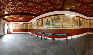 Tomb of King Qian 360 panoramic image