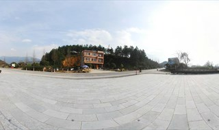 Panorama view of Yi Jiang Yuan Scenic Spot