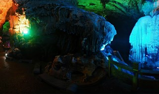 Silver Cave Panorama view