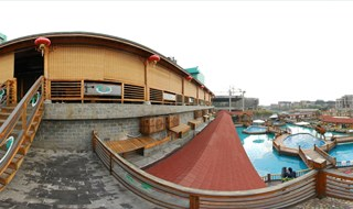 Tang Shan Quan hundredfold hot springs  virtual to