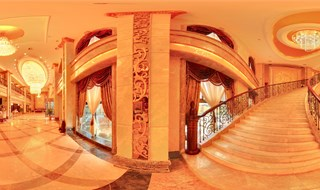 Plaza Royale in Tibet 360 panoramic image
