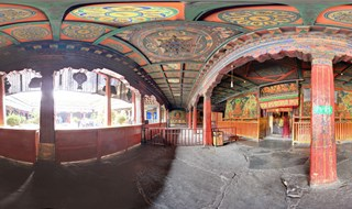 Jokhang Temple 360 panoramic image
