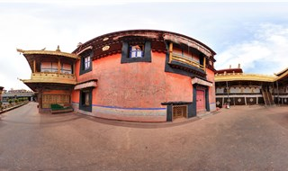 Jokhang Temple 360 panorama view