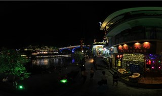Night view of Fenghuang 360 panorama view