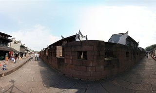 East Gate to North Gate Wall Panorama