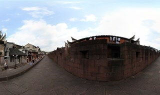 East Gate to North Gate Wall 360 panorama VR
