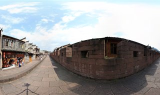 East Gate to North Gate Wall 360 tourpano