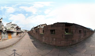 360 degree panorama of East Gate to North Gate Wall