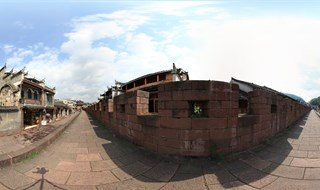 360 panoramic photo of East Gate to North Gate Wall