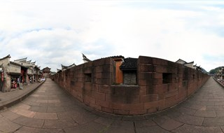 360 virtual travel of East Gate to North Gate Wall
