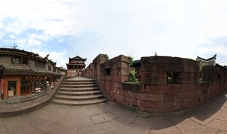Panoramic tour of East Gate to North Gate Wall