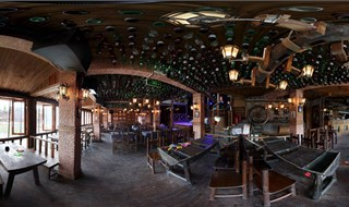Watchmen of Ancient Town bar 360 degree travel