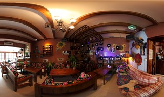 Panoramic view of Zaibiechu Sifangcai bar
