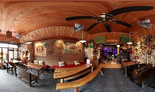 Siben bar 360 panoramic photo