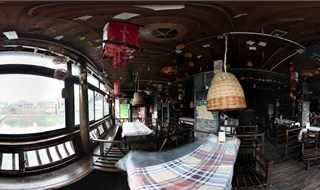 Xiangxi Wangshi bar 360 panoramic image