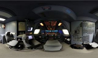 Botia Mahan Aviation College (AIRBUS A300-600 COCKPIT) - Mahan Air - Kerman - Iran