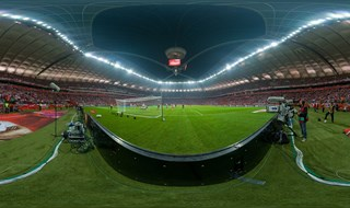 EURO 2016 qualifiers, Poland-Germany, National Stadium, Warsaw. Poland.