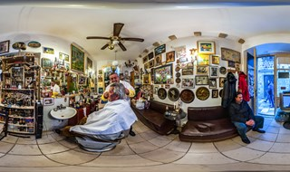 Old barber shop - Cikato