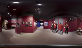 The Band & Comm Room @ The R. C. R.  Museum