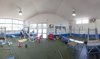 Gym at San Carlos de Apoquindo