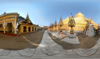 Shwezigon Pagoda - Old Bagan