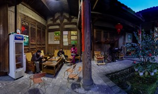Wu's Traditional Chinese House in Fujiang, China 培田古村吴家大院