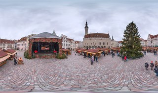 Tallinn, Old town. New Year-2015