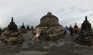 Candi Borobudur, used to be one of Wonder of the World.