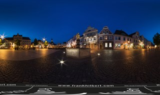 Altmarkt in Cottbus (Germany)
