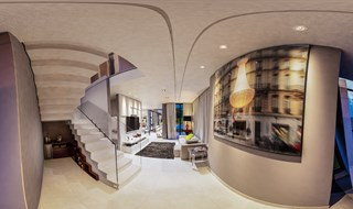 3Dr Studio - Interior - Cassiana e Diogo - Hall/Sala
