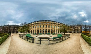 Jardin du Palais Royal, Paris, 2014.