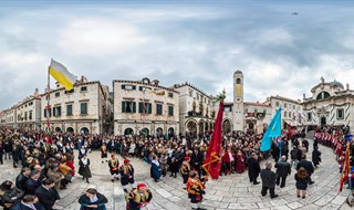 Feast of Saint Blaise, Dubrovnik, 2016.