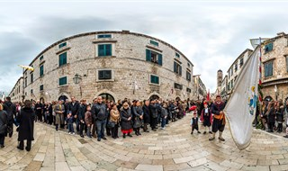 Feast of Saint Blaise, Dubrovnik, 2016..