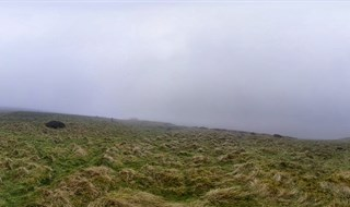A Foggy Horseshoe Pass
